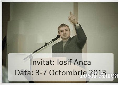 Afis Iosif Anca