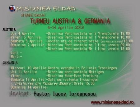 TURNEU Austria si Gemania1