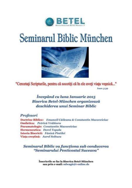 Scoala Biblica München